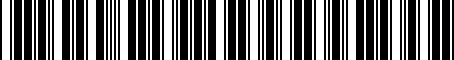 Barcode for H501SCA101